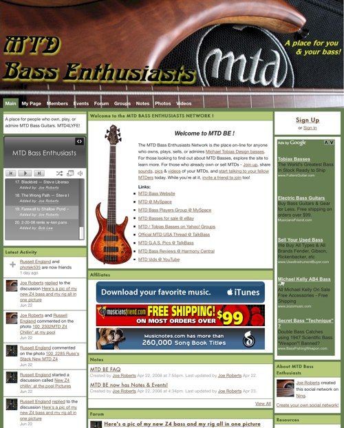 MTD Bass Enthusiasts