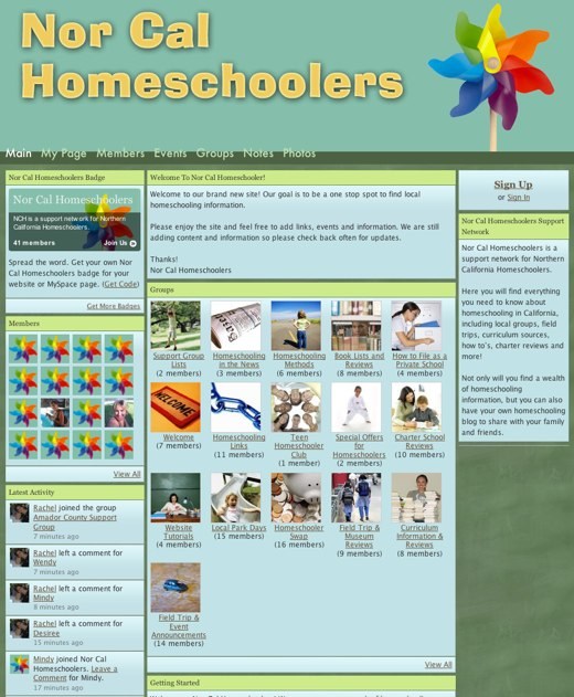 A world of home schoolers