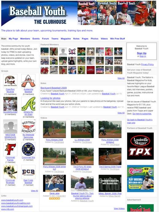See the future of MLB at Baseball Youth