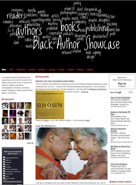 Read up on the Black Author Showcase