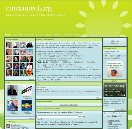 Get connected at CMConnect