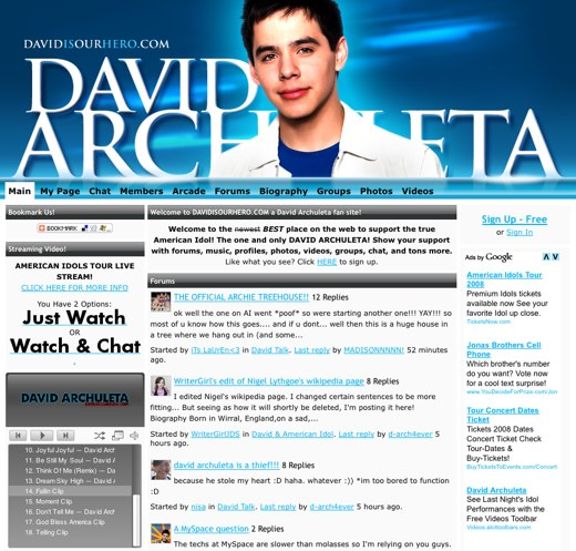 David Archuleta is Our Hero