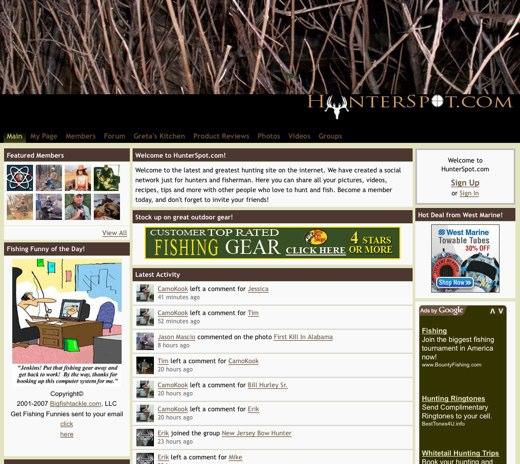 Take aim at HunterSpot