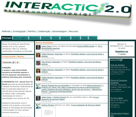 Portuguese 2.0 at Interactic