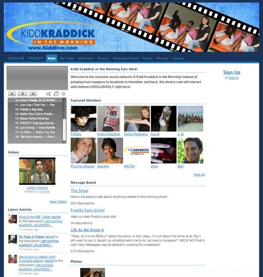Kidd Kraddick's Broadcasts Online