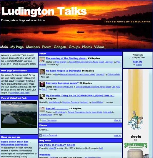 Ludington Talks