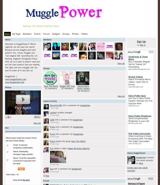 Muggles unite at MugglePower