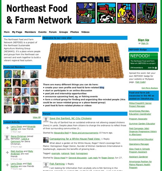 Food and farm in the Northeast