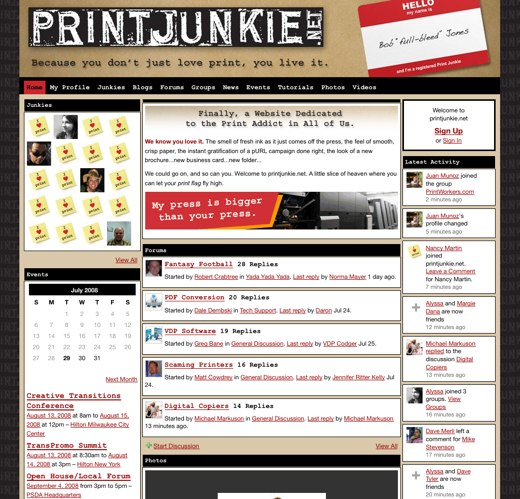 Get your hands dirty at PrintJunkie