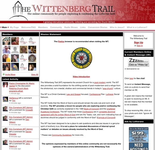 Follow the Wittenberg Trail