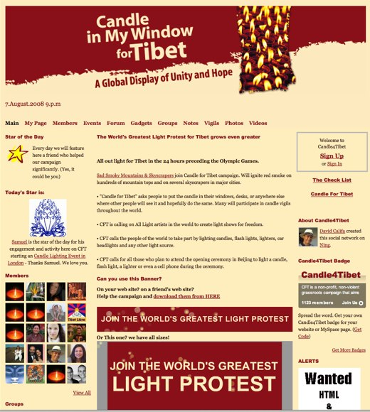 Lighting a Candle 4 Tibet
