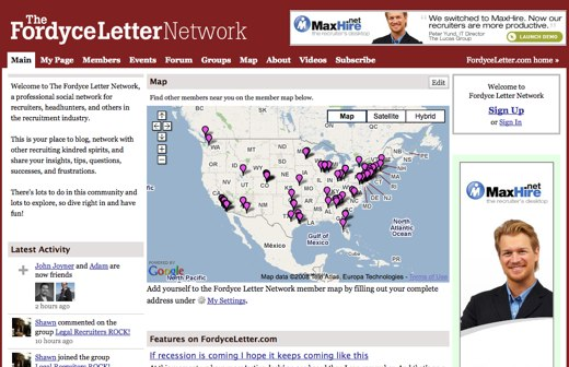 The Fordyce Letter Network