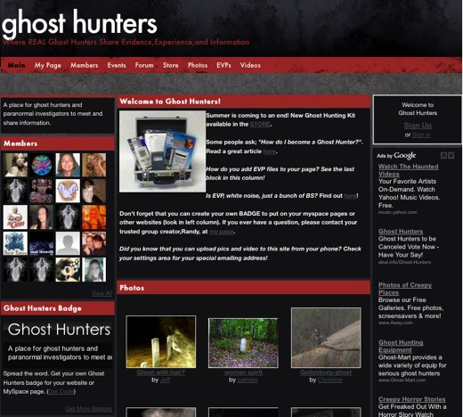 Experience the paranormal with Ghost Hunters