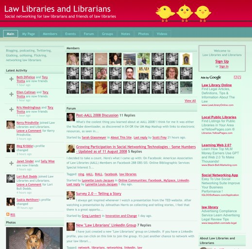 Study up at Law Libraries and Librarians