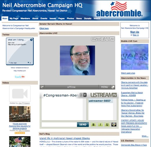 Rock the Vote with Neil Abercrombie