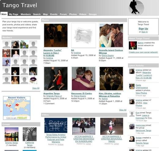 A Tango-centric life at Tango Travel