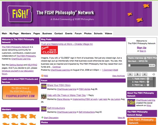 FISH! Philosophy Network reels in satisfaction