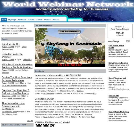 Bringing webinars together, worldwide