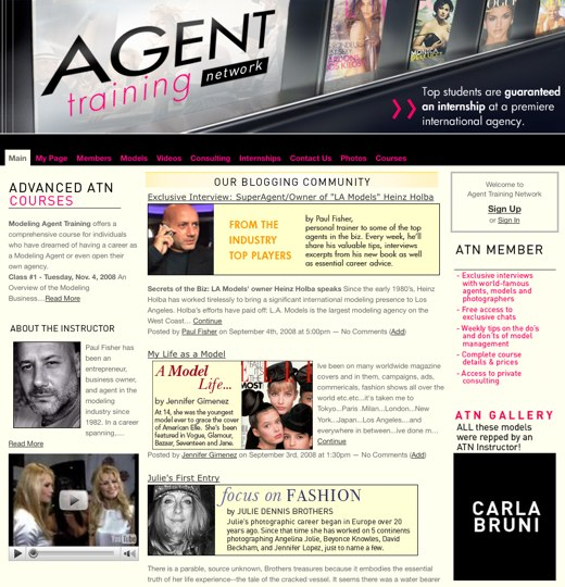 Become a modeling agent