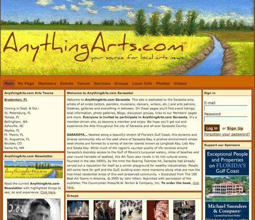 Experience the arts at AnythingArts.com