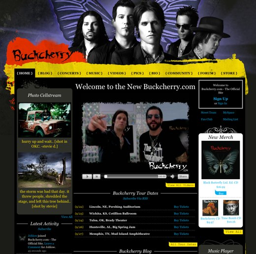 Stay on the road with Buckcherry