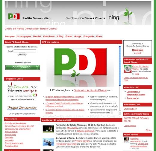 Italians unite for Obama from afar