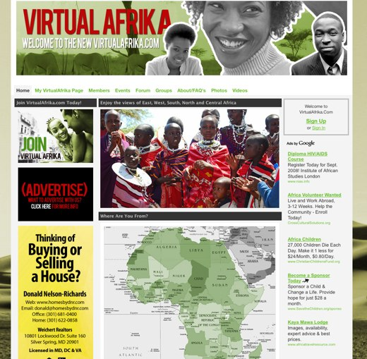 Connect on Virtual Afrika