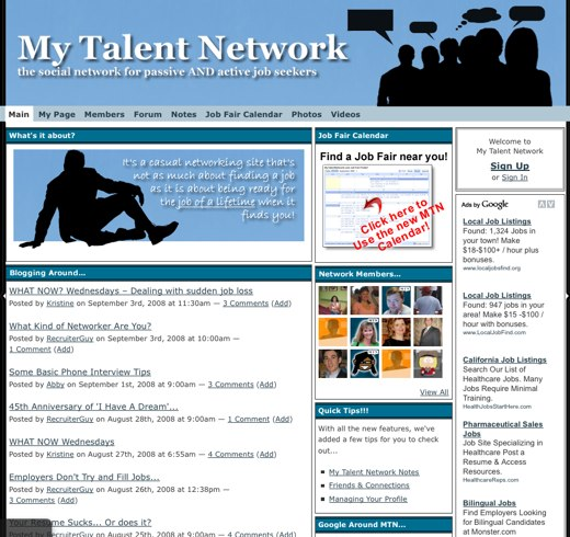 Be a part of the Talent Network