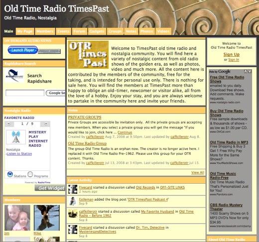 Get nostalgic for Old Time Radio