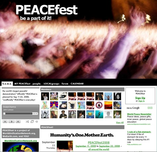 Join the Peacefest
