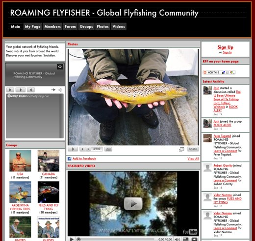 Join the Roaming Flyfisher