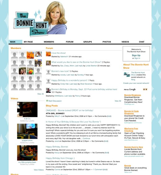 Watch the Bonnie Hunt Show