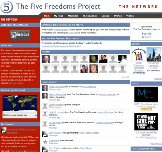The Five Freedoms Project