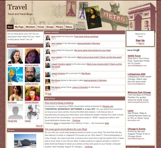 Abroad with Travel Blogs