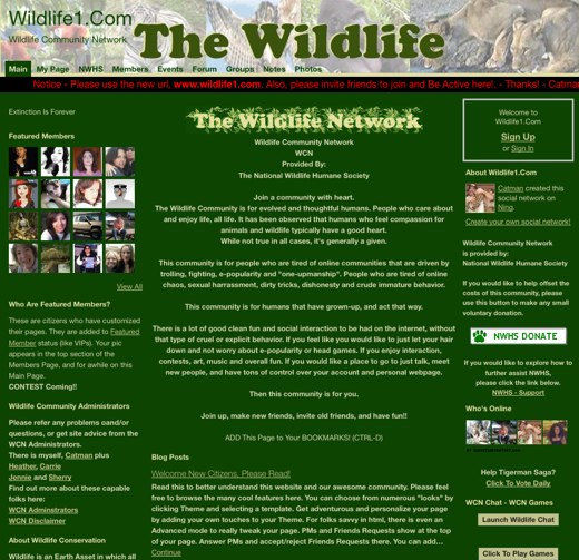 Come join The Wildlife