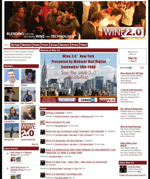 Join the Wine 2.0 revolution
