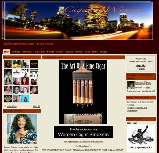 Smokin hot ladies gather at Cigars 4 Women