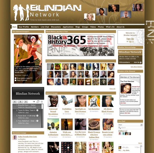Check out the Blindian Network