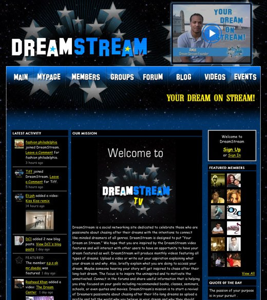 Your Dream on Stream