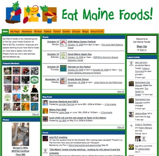 Going local with Eat Maine Foods!