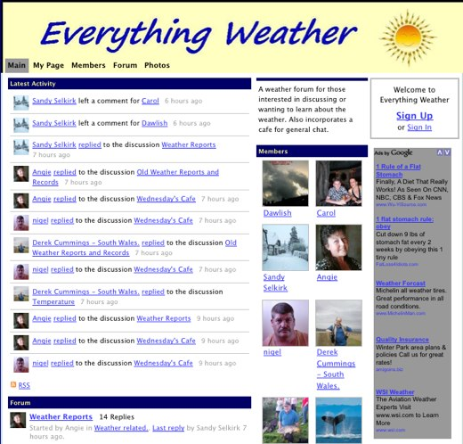 Everything Weather, all the time