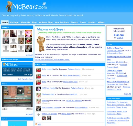 All the details of teddy collecting await you at McBears.com