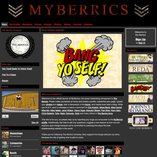 Fall in line at MyBerrics
