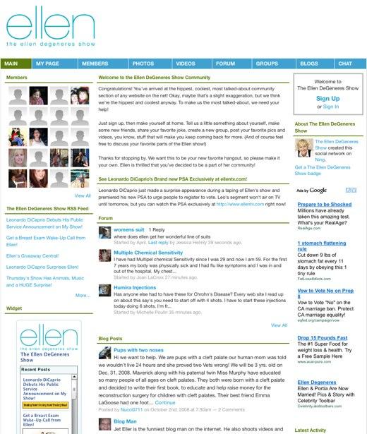 Now airing: The Ellen DeGeneres Show