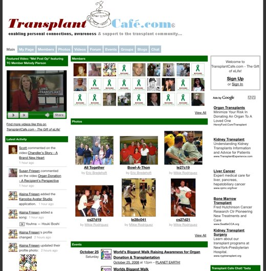 Find your place at Transplant Cafe