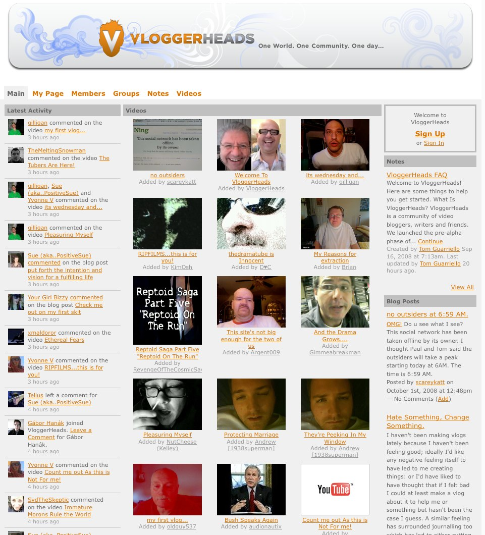 Vloggerheads heading up the video blog movement