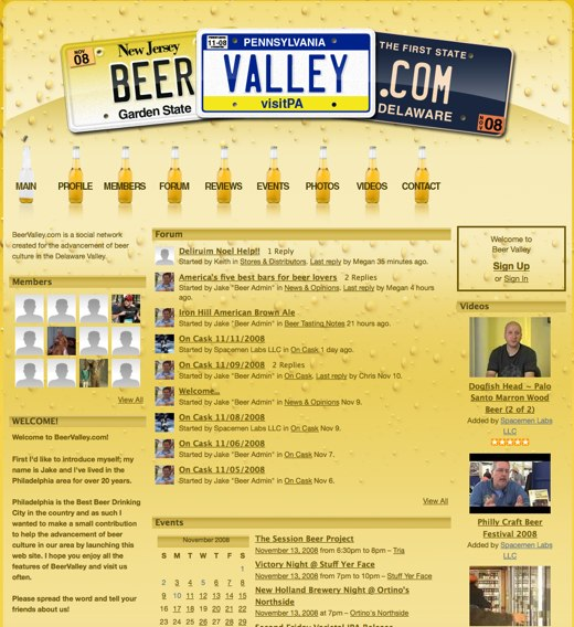 Drink up, when you visit Beer Valley