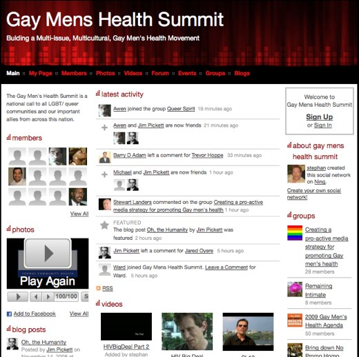 Advocate for change at the Gay Mens Health Summit