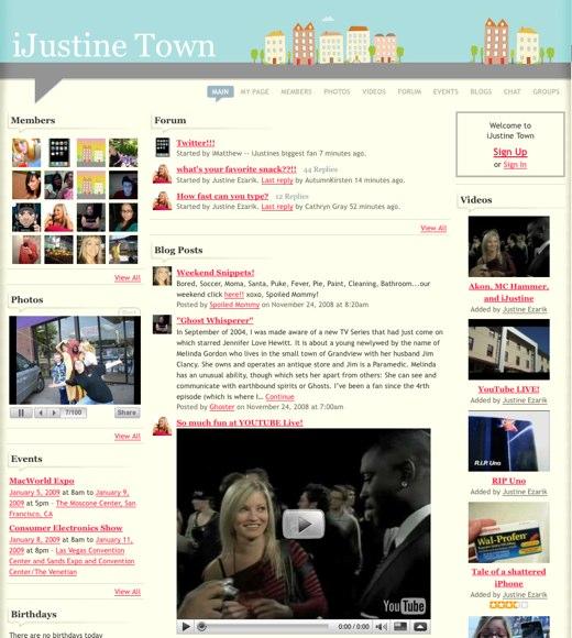 Plan a visit to iJustine Town