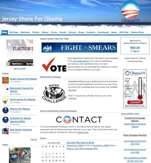 Jersey Shore For Obama